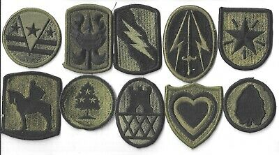 $7 • Buy Lot Of 10 Different U.s. Military Patches  (mp 4562)