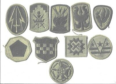$7 • Buy Lot Of 10 Different U.s. Military Patches  (mp 4563)