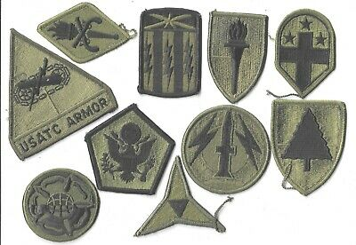 $7 • Buy Lot Of 10 Different U.s. Military Patches  (mp 4566)