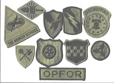 $7 • Buy Lot Of 10 Different U.s. Military Patches  (mp 4568)