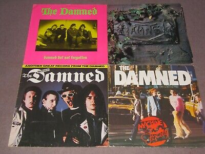£14.50 • Buy Job Lot Of 4  Damned Punk Records, All In Vg Condition