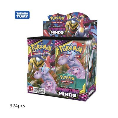 $349.99 • Buy Pokemon TCG Sun & Moon Unified Minds Booster Sealed Box 36 Packs