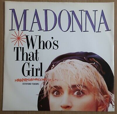 £4.99 • Buy Madonna - Who's That Girl (uk, 1987, Sire 12 , Nr Mint Cond)