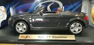 $5.40 • Buy Maisto Audi TT Roadster Diecast Model Car Special Edition, Scale 1:18 Grey