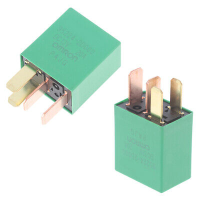 £2.31 • Buy 1PC Car Violet Relay For KIA 12V 20A OMRON 4 Pins Green Color Power RelayB_UK