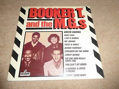 £6.99 • Buy BOOKER T & THE MGs 'GREEN ONIONS' 1966 PICKWICK RECORDS VINYL NORTHERN SOUL