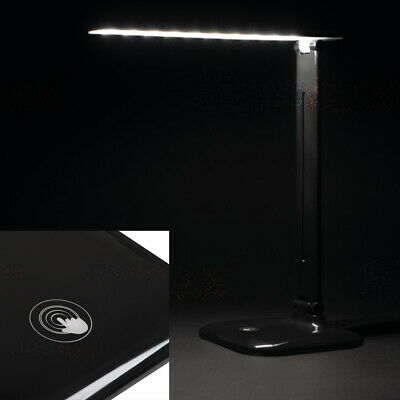 £19.95 • Buy Black Touch Control Foldable Adjustable Dimmable Table Desk Reading Bedside Lamp