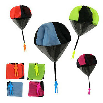 £2.33 • Buy Hand Throwing Mini Soldier Play Parachute Kids Educational Outdoor Games Toys_UK