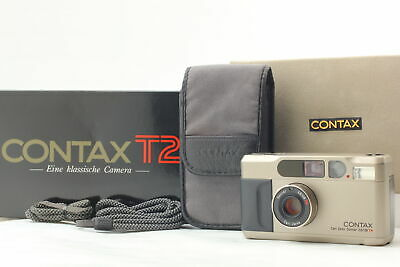 $ CDN1876.10 • Buy [Almost Unused In Box] Contax T2 Titan 35mm Point & Shoot Film Camera From JAPAN