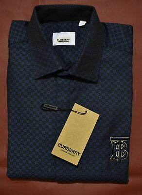 $69.90 • Buy Brand New With Tags Men's BURBERRY Long Sleeve Slim Fit Shirt