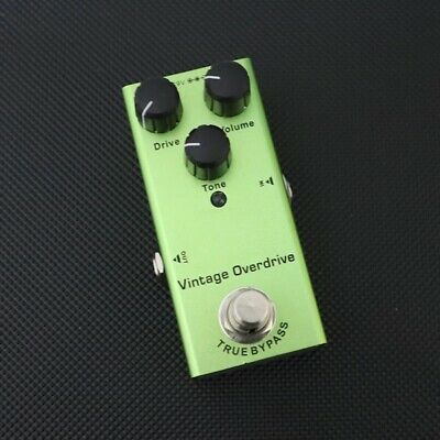 $ CDN0.63 • Buy Vintage Overdrive Guitar Pedal Effect Pedal Electric Guitar Pedal