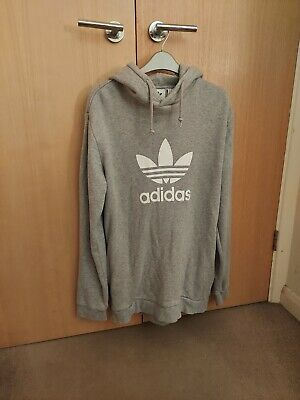 $ CDN8.70 • Buy Adidas Pull Over Hoodie Size (M) Grey  Good Condition