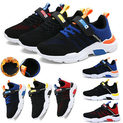 £15.59 • Buy Kids Trainers Boys Girls Running School PE Casual Shoes Sneakers Breathable Size