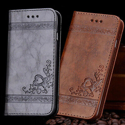 AU9.59 • Buy Wallet Case For IPhone 11 12 Pro Max XS XR X 6s 7 8 Magnetic Flip Leather Cover