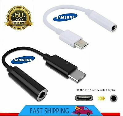 £2.77 • Buy Genuine Samsung USB Type C To 3.5mm AUX Audio Headphone Jack Cable Adapter UK