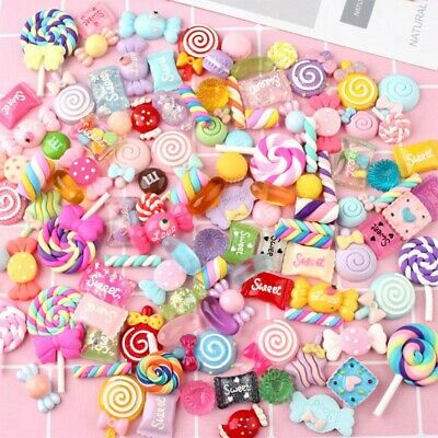 AU15.51 • Buy Candy Charm Scrapbooking Supplies Slime Charms Phone Charm Nail Decoration