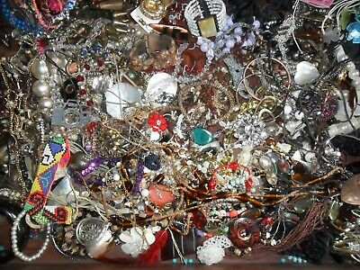 £9.89 • Buy Joblot Of Mixed Vintage / Modern New And Old  Jewellery