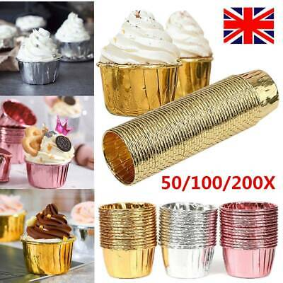 £6.69 • Buy 50-200PCS Paper Cups Cake Cupcake Wrappers Muffin Cases Baking Cup Cake Liner