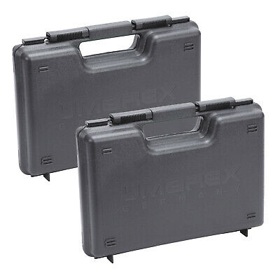 £23.79 • Buy Umarex Hard Pistol Case Two Pack For Air / Co2 / BB / Air Soft Pistols Storage