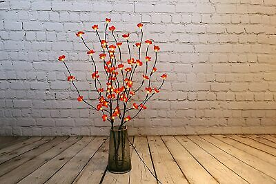 £19.99 • Buy Cherry Blossom Red Twig Branch Light, Warm LED Lights With Plug-in Power