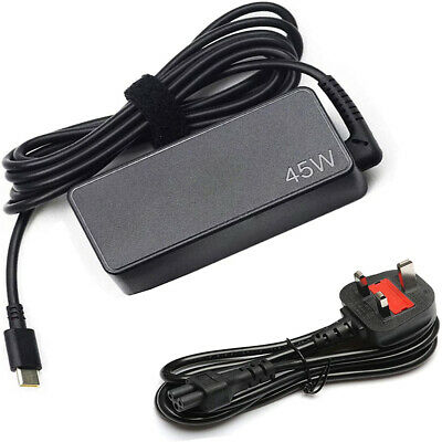 £15.19 • Buy 45W Type-C USB-C Universal Laptop Adapter Charger For Lenovo HP April Dell Acer