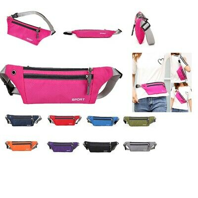 £3.89 • Buy Bum Bag Fanny Pack Travel Waist Festival Money Belt Leather Pouch Wallet Holiday