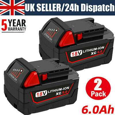 £32.99 • Buy For Milwaukee M18 18 Volt Lithium XC 9.0 AH Extended Capacity Battery 48-11-1890