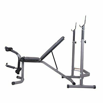 £206.25 • Buy  Olympic Weight Bench With Leg Extension Curl Lift Developer Attachment, 2