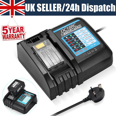£20.69 • Buy DC18RD Charger For Makita Battery 18Volt 6.0Ah LXT Lithium BL1860 BL1830 BL1850