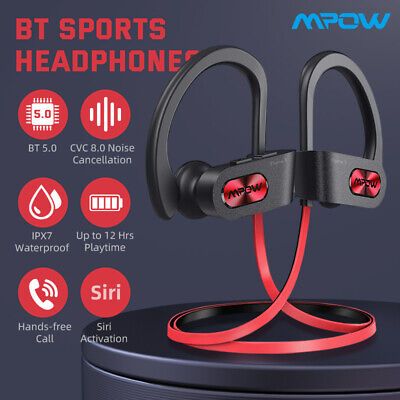 £19.48 • Buy Mpow Flame S Headphones Noise Cancelling Sports Headset Bluetooth 5.0 IPX7 UK