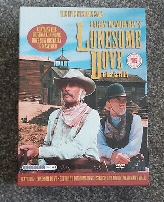 £17.50 • Buy DVD  Larry McMurty's LONESOME DOVE Collection - Epic Western Saga - Complete