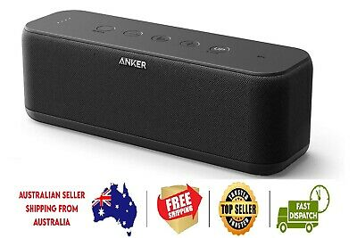 AU126.99 • Buy Anker SoundCore Boost 20W BT Speaker With BassUp Technology - 12h Playtime