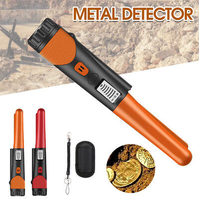 £15.99 • Buy Metal Detector Finder Pin Pointer Probe HandHeld Golf Pinpointer With LED Light