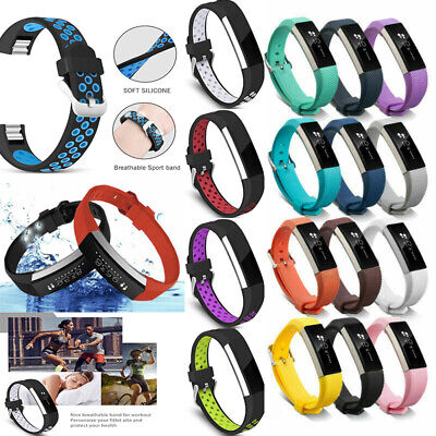 AU3.99 • Buy For Fitbit Alta / HR Silicone Sports Wrist Straps Wristband Replacement Band ^