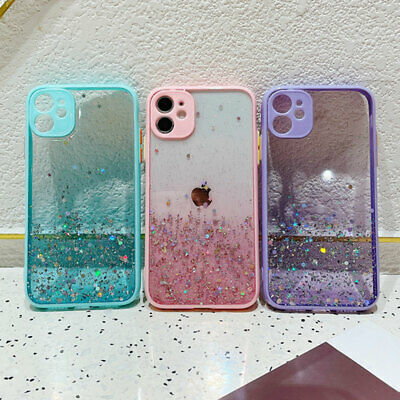 AU8.48 • Buy For IPhone 11 12 Pro Max X XS XR 8 7 Plus Bling Glitter Shockproof Cover Case AU