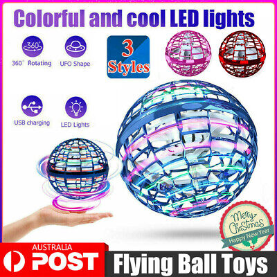 AU40.89 • Buy Mini Hand UFO Drone Flying For Kids Mini Ball Toys Helicopter Hover Quadcopter