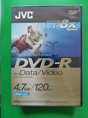 £5.20 • Buy JVC DVD-R 4.7gb For Data Video Free Postage In UK