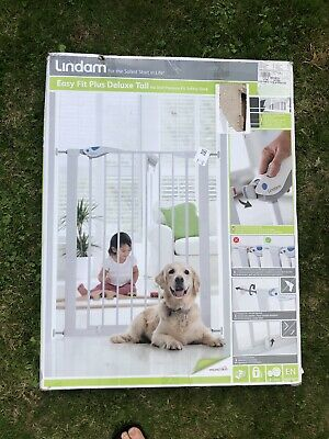 £32.50 • Buy Brand New Lindam Easy Fit Plus Deluxe Tall No Drill Safety Gate £44.99
