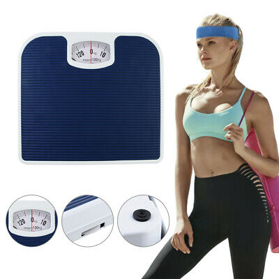 £11.98 • Buy Accurate Mechanical Dial Bathroom Scales Weighing Scale Body Weight 130Kg Blue