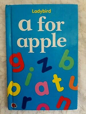 £2.25 • Buy Ladybird - A For Apple - Early Learning, Toddler Pre School Alphabet