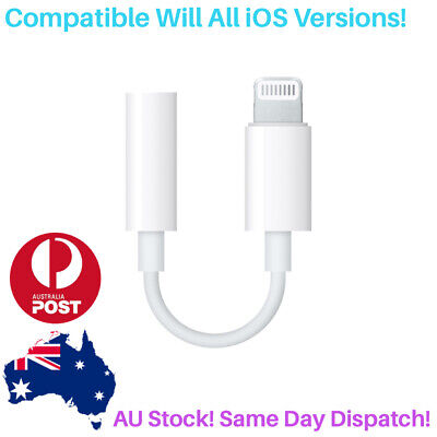 AU5.95 • Buy Audio To Aux 3.5mm Adapter Jack IPhone Earphone Cord Connector Charger