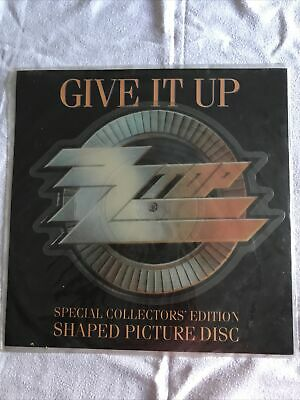 £14.99 • Buy ZZ Top - Give It Up - 7  Limited Edition Shape Picture Disc 1989 U.K
