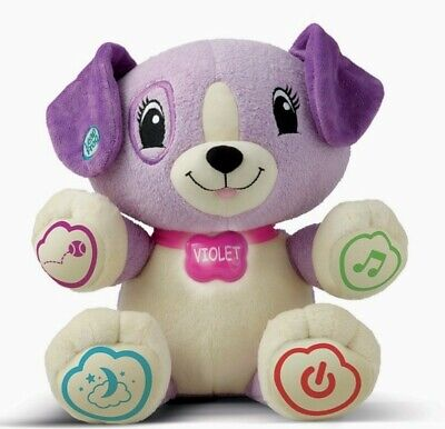 £8.99 • Buy Leapfrog My Pal Violet Personalised Singing Purple Puppy Cuddly Soft Toy