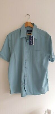 £10 • Buy Brand New BHS Atlantic Bay S/sleeved Soft Touch Shirt With Breast Pocket