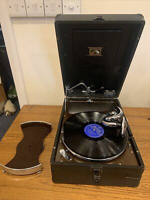 £225 • Buy Antique HMV 1931/32 Portable Wind Up Record Player - 102 - Type 16