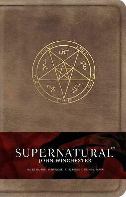 £17.93 • Buy Insight Editions: Supernatural: John Winchester Hardcover Ruled Journal