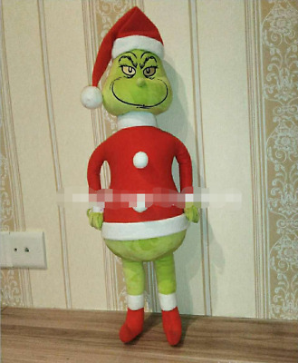 £13.99 • Buy 60CM Grinch Plush Doll How The Grinch Stole Christmas Kids Stuffed Toys Kid Gift