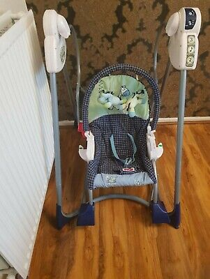 £30 • Buy Fisher Price Smart Stages, 3 In 1, Baby Swing, Infant Seat And Rocker With Music