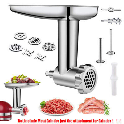 £21.79 • Buy Meat Grinder Attachment For Kitchenaid Stand Mixer Kitchen Aid Accessories