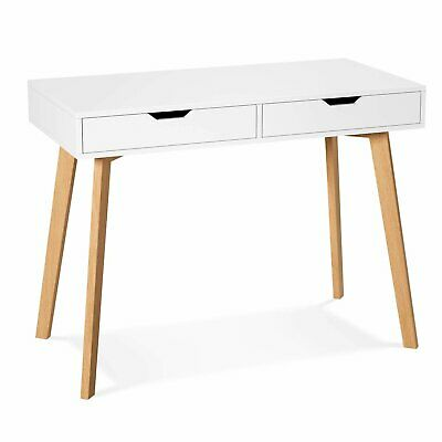 £39.99 • Buy Modern Computer Desk Writing Study Table Office With 2 Drawers Dressing Table UK